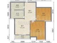 安得利广场对面,电梯中高好楼层,精装大两房出售!采光超亮前后无遮挡