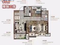 新站区,悦湖新著,精装修高层87平,92平 总价115万起。首付4成
