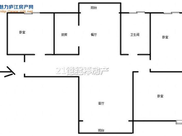 天润公馆 精装三房 大客厅 产证满2 近安德利广场 三里小学 家电齐全 急售!!