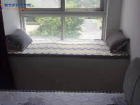 西城桂花园 3室 空调2台,冰箱洗衣机,包物业 16000一年