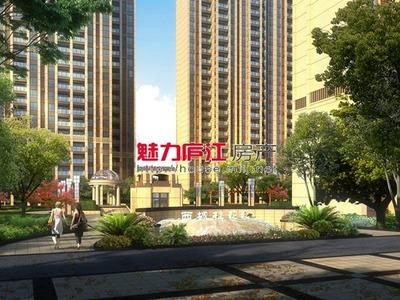 出租,西城 桂花苑城西两室中等装修,1.3万一年,电话微信同号