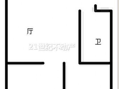 北苑小区 家具全丢 精装两房 通透性强 采光超好 满五唯一