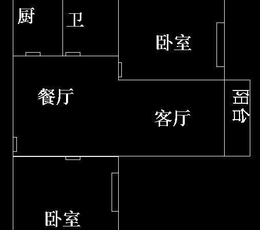 滨河家园电梯中层80平方米2室2厅中装50万