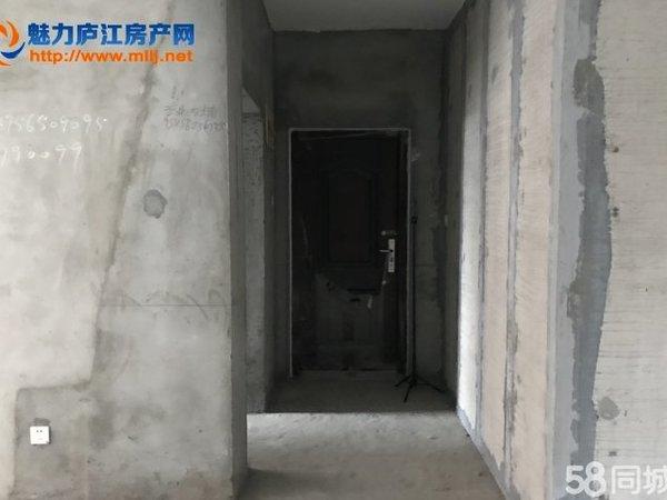 庐江 天润公馆旁 毛坯三房,价格诱人 包更名无税