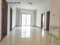越城花园 框架电梯房 107.5平三室二厅精装修 送20平大平台 急售72万