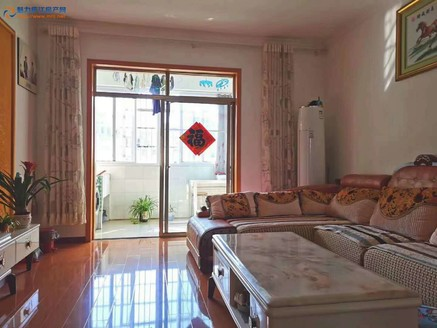 越城花园楼梯房4楼2室2厅90平方米精装68万