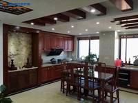 出售爱庐 公园首座豪华装修加车位,红木家具4室2厅2卫156平米186万住宅