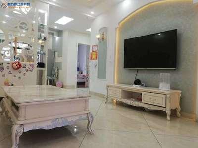 庐江汽车城对面桃园雅居楼梯房黄金楼层80平2室2厅精装45.8万