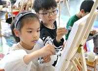绘出精彩童年!打卡众发·阳光壹号院,这个假期带着孩子必去之地
